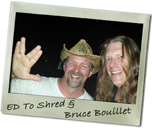 Ed To Shred & Bruce Bouillet at GUTS 2014!